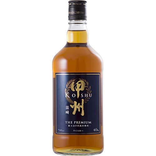 甲州韮崎ウイスキー ザ・プレミアム 瓶 [ ウイスキー 日本 700ml ]