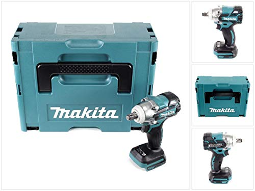 Makita DTW 285 ZJ Akku Schlagschrauber 18V 280Nm 1/2' Brushless Solo + Makpac - ohne Akku, ohne Ladegerät