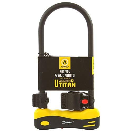 Auvray U-Lock Titan 320 Level 5 - Candado para Bicicleta