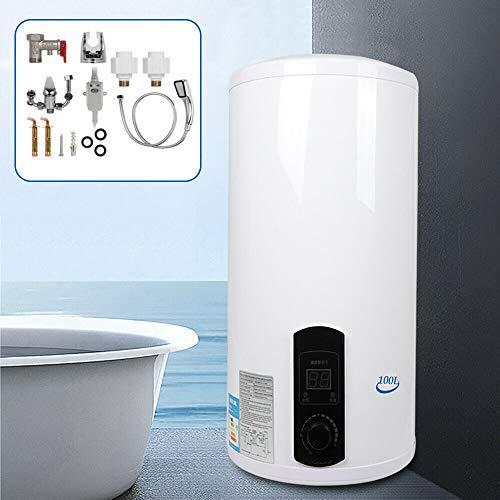 Chauffe-eau électrique 2000 W 30-75 °C - Chauffe-eau électrique vertical - 100 l