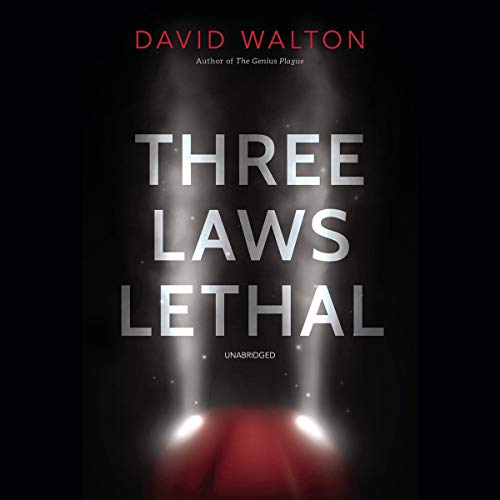 Three Laws Lethal audiobook cover art