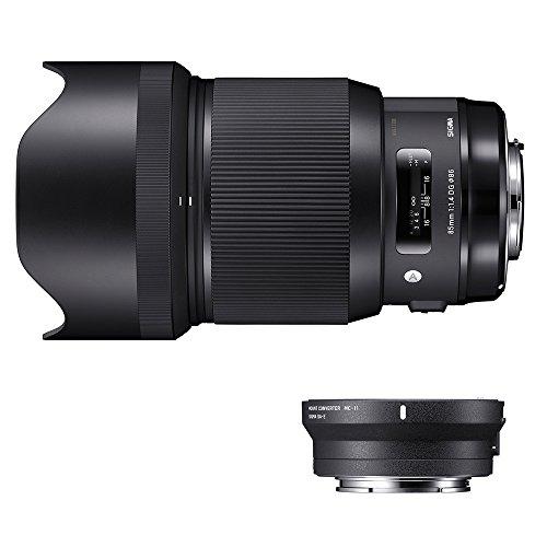 Sigma 321954_89E965 - Kit 85 mm F/1.4 Art EOS + MC-11, Color Negro