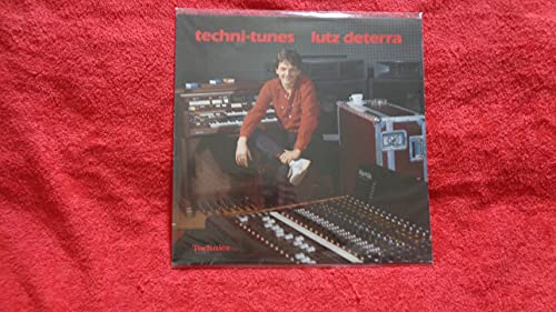 Lutz Deterra – Techni-Tunes Reference LP für Technics Orgel G 7 / Rhythm Computer / Digital Piano PV 10