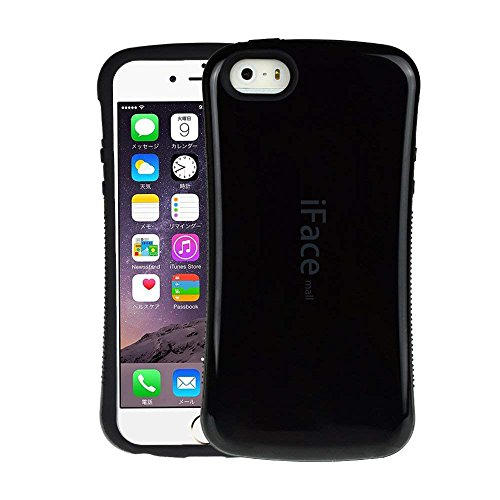 iPhone5/5s/5SEケース iPhoneSEケース 耐衝撃 ケース カバー 黒