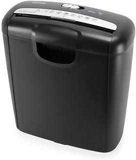 comprar comparacion Vultech DD-02ST Strip shredding 220mm Negro - Triturador de papel (Strip shredding, 22 cm, 10 L, Botones, 6 hojas, Negro)