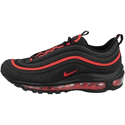 Nike Zapatillas unisex para niños Low Air Max 97 (GS), color Negro, talla 40 EU