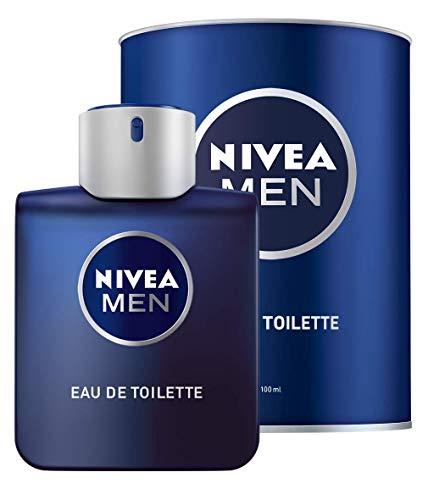 Nivea Men Eau de Toilette - Frasco de colonia para hombre, 100 ml, para cada día, aroma fresco para hombre, adaptada a los productos Nivea
