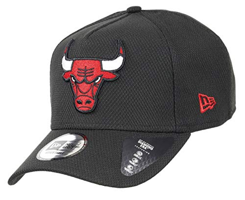 New Era Chicago Bulls A Frame Adjustable Trucker Cap NBA Black Base Black - One-Size