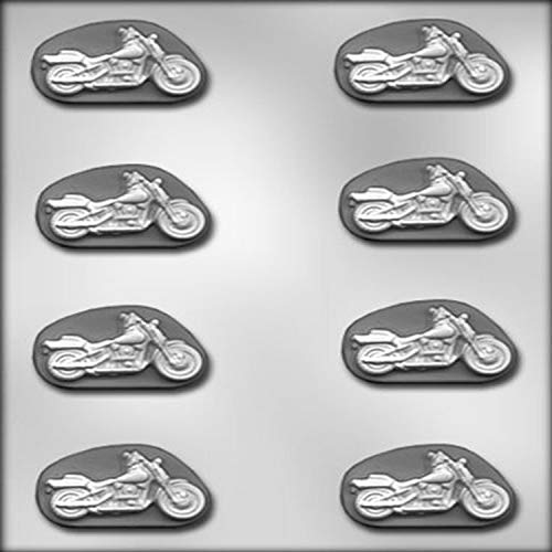 CK Products 2-Inch Motorcycle Chocolate Mold