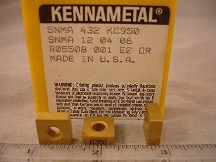 NEW KENNAMETAL CARBIDE INSERTS CNMP 643 K313