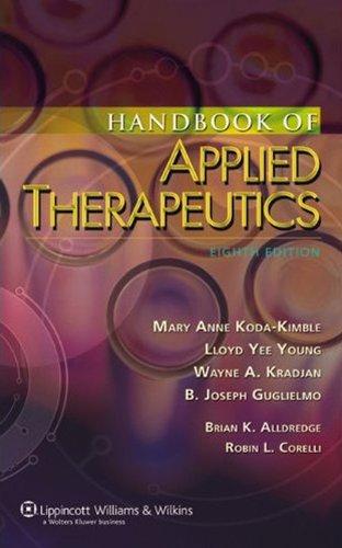 41wqasa63GL - Handbook of Applied Therapeutics