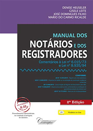 Manual Dos Notários E Dos Registradores - 2a Edição