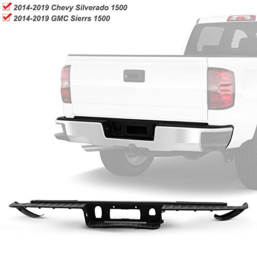 ACANII - For 2014-2018 Chevy Silverado/GMC Sierra 1500 Rear Bumper Face Bar Top Center Step Pad w/o Corner GM1191143