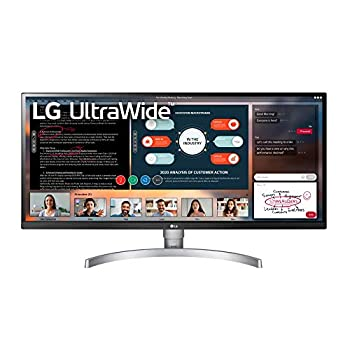 LG 34WK650-W 34  UltraWide 21 9 IPS Monitor with HDR10 and FreeSync  2018  Black/White