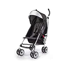 LIGHTWEIGHT – A lightweight stroller makes any outing a little easier! The Summer 3Dlite Convenience Stroller has a durable aluminum frame that weighs just 13 pounds and has a large seat area, plus anti-shock front wheels and lockable rear wheels. FO...
