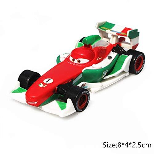 Desconocido Disney Disney Pixar Cars 2 3 Roze Snot Rod & DJ & Boost i Wingo Lightning Mcqueen Mater 1:55 Diecast Metal Alloy Model Car Kid Gift Francesco