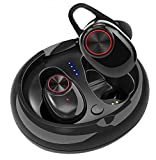 Hottest Selling Bluetooth Headphones, V5.0 Wireless Bluetooth Earbuds Stereo Earphone Cordless Sport Headsets, 6D Bluetooth Run Swim Play Ear Earphones with Built-in Mic for All Smartphones