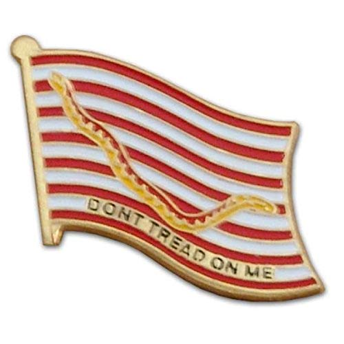 Amazing Deal US Flag Store PIMIL1NV 1st Navy Jack Lapel Pin, Red, White, Yellow, Gold