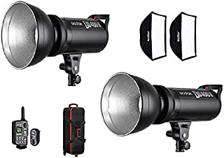 Godox DS400II L400Ws Photography Photo Studio Light Kit Flash Strobe Light Lamp - Bowens Mount