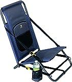 GCI Outdoor Everywhere Portable Folding Hillside Chair, Midnight