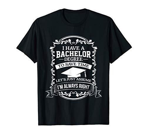 Akademiker Sponsion Geschenk   Abschluss geschafft Bachelor T-Shirt