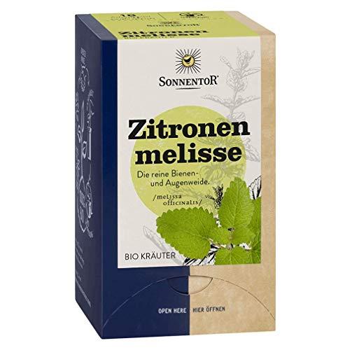 Sonnentor Bio Zitronenmelisse Tee, 18 Beutel (1 Packung)
