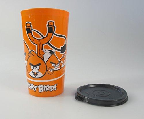 TUPPERWARE Kinder Trinkbecher 330 ml orange Angry Birds Becher Trinken Kinder
