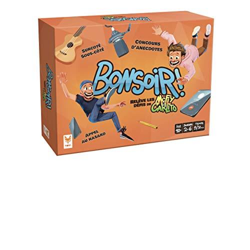 Topi Games- Bonsoir-Le Jeu de McFly et Carlito société, MAC-CAR-949001, Multicouleur