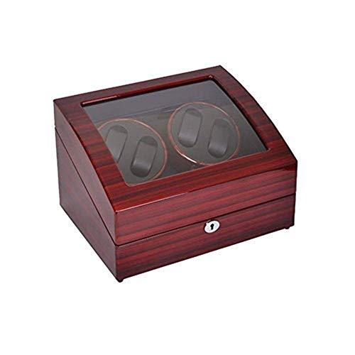LQH Caja de Winder de Reloj automática para Rolex, Watch Winder Wooder Rotation Watch Winder Funda de Almacenamiento Caja de visualización