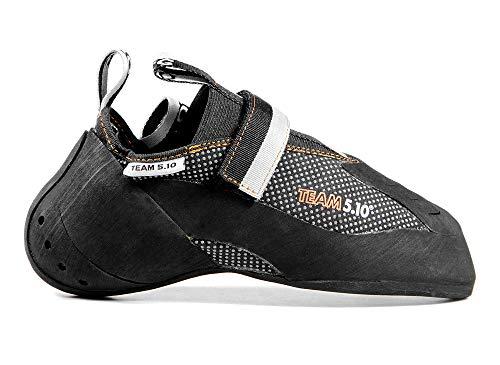 Five Ten Men's Team 5.10 Climbing Shoes (Team Black, 2.5)