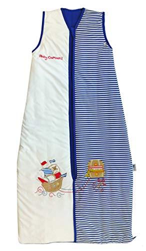Schlummersack Baby Sommerschlafsack leicht gefüttert 1 Tog - Pirat - 12-36 Monate/110 cm