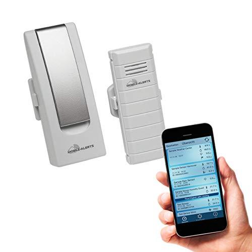 ELV Mobile Alerts IP-Wettersensoren Starter-Set MA10001, Gateway + Temperatursensor