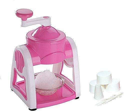 Nilzone Manual Plastic Gola Maker/Slush Maker/Ice Shaver/Ice Gola Maker/Ice Crusher, Assorted