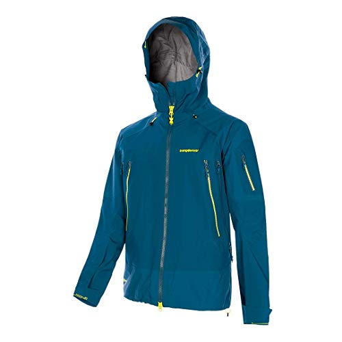 TRANGOWORLD Trx2 Shell Pro - Giacca da uomo, Uomo, giacca, PC007849-281-M, blu/blu, M