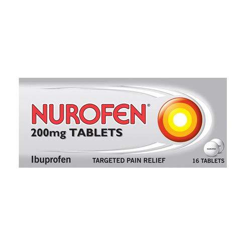 Nurofen Caplets Ibuprofen 200 Mg, Pack of 16