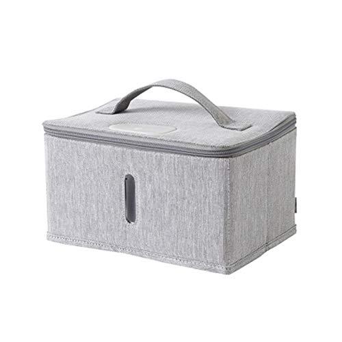 LZXBC Bolsa de Desinfección, Caja Desinfectante UV Plegable Portátil 6 Lámparas de...