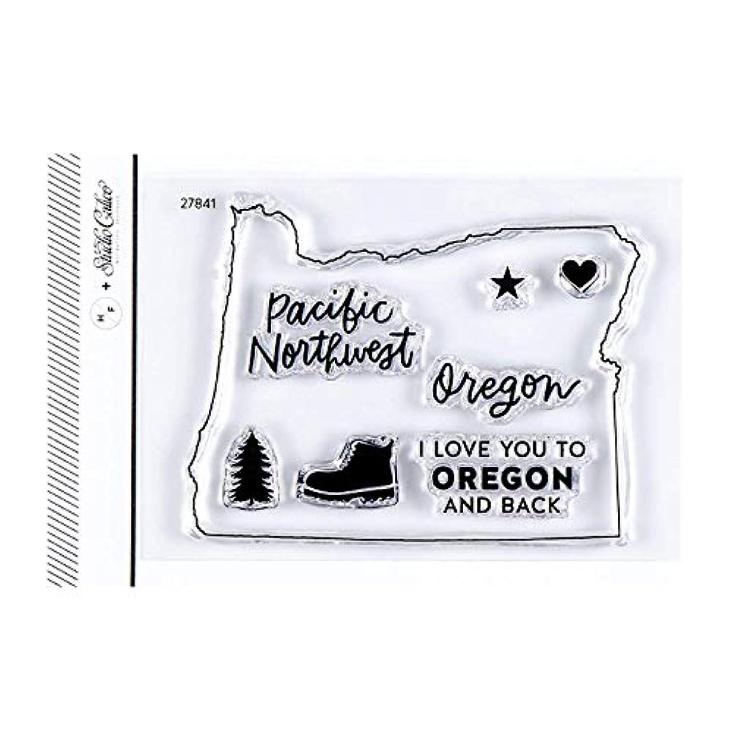 Studio Calico I Love Oregon Clear Stamp Set