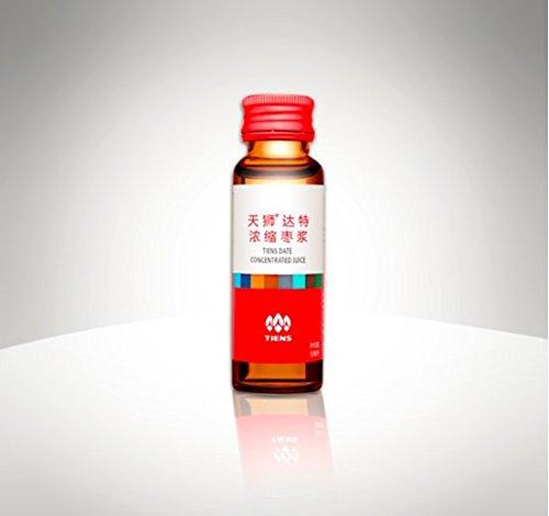 Dattelsaft Konzentrat von Tiens - Chinesisches Dattel - Ziziphus Jujuba - Jujube - Adenosin-Monophosphat - Reichhaltige Quelle an Vitaminen und Mineralien - 24 Aminosäuren