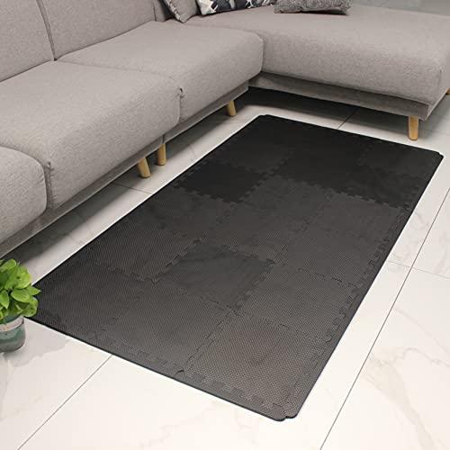MQIAOHAM alfombra puzzle bebe suelo goma colchoneta suelo tapete puzzle acolchada infantil gateo CDW104XZ301018