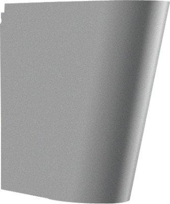 Franke Siphonabdeckung SC140HP aus Chromnickelstahl zur Wandmontage, Farbe:Edelstahl poliert