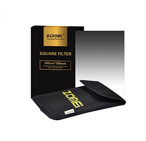 Zomei Graduated Neutral Density ND8 GND8 Quadratischer Filter für Cokin Z Serie Filter 150 x 100 mm 4x6 Halter und Canon Nikon Sony Kamera