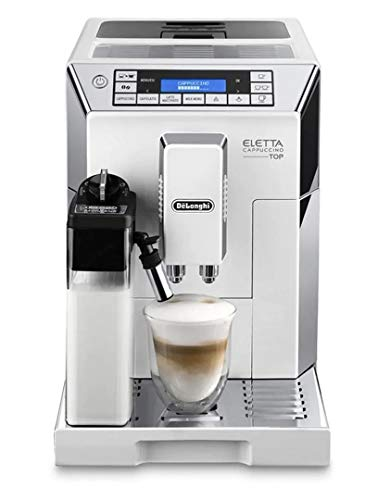 Review Delonghi super-automatic espresso coffee machine - with an adjustable silent ceramic grinder,...