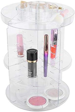 Hoogwaardige cosmetische vitrine meerdere lagen acryl makeup organizer acryl vitrine cosmetische display box voor thuisvrouwen