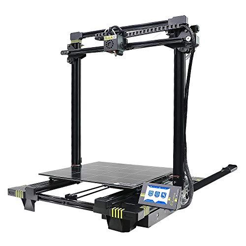 BGROEST Qualité Industrielle à Grande Taille de Haute précision Accueil imprimante de Bureau 3D avec Fonction d'impression de CV et écran Tactile Couleur (Couleur : Noir, Taille : 61.2x65.1x72cm)