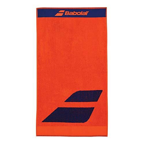 Babolat Tennis Handtuch rot mit schwarzem Logo