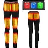 joyvio Pantalones Térmicos Calefacción Eléctrica USB 6 Zonas...