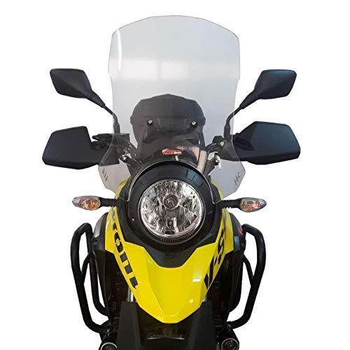 Touring Windshield Windscreen 50cm (Smoked) for Suzuki V-Strom 250 2017 2018
