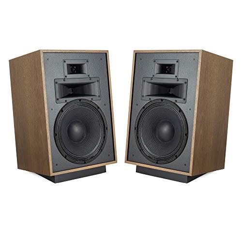Klipsch Heritage Series Heresy IV Floorstanding Speaker Pair in Distressed Oak