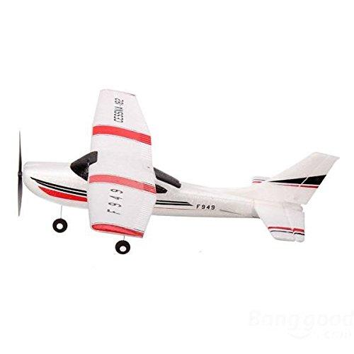 ACHICOO Wl-Toys F949 2.4G 3CH Cess-NA 182 Micro RC Flugzeug BNF ohne Sender Gag-Geschenke für Kinder