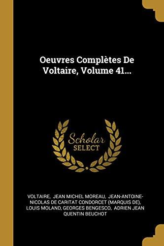 Oeuvres Complètes De Voltaire, Volume 41...